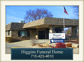 Higgins Funeral Home Wisconsin